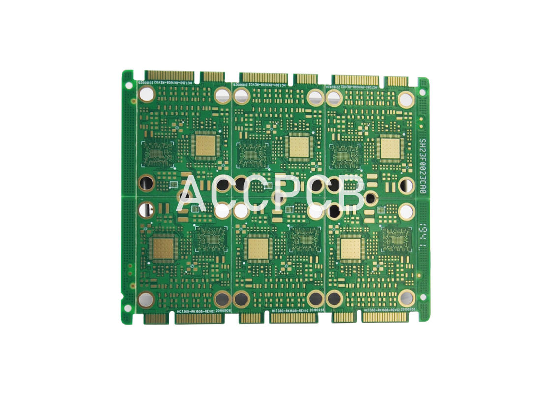 LED light PCB Board Smd LED Circuit Board  with Green Soldermask RoHS 94v0 UL Compliance