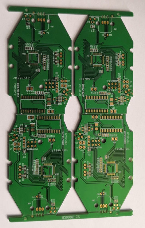 Power Supply Prototype PCB Board Multilayer Fabrication Service ENIG Surface Finish