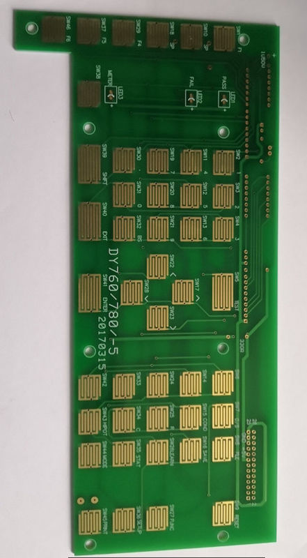 Industrial Custom Prototype PCB with immersion gold for industrial control